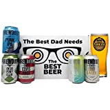 'Best Dad' Mixed Craft Beer Gift Packs with Branded Glass and Snack (Brewdog) - Perfect for Father's Day, Birthdays & Christmas