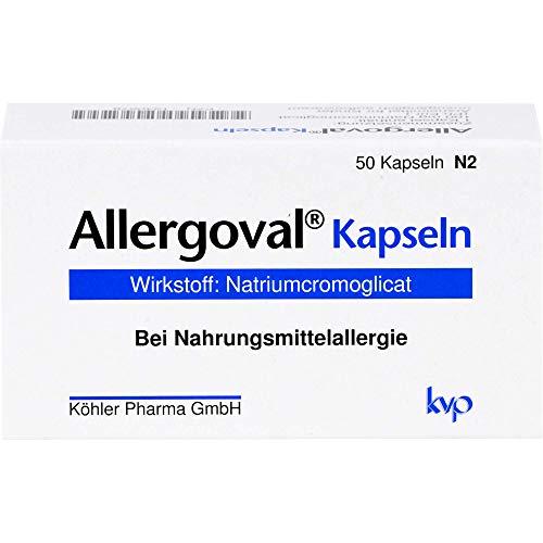 Allergoval Kapseln bei Nahrungsmittelallergie, 50 St. Kapseln