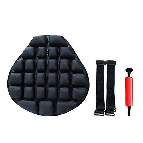 1set Motorcycle Cool Seat Cover Universal Air Pad Motorcycle Seat Protector Electric Car Inflatable Sunscreen Mat Motorcycle Accessories