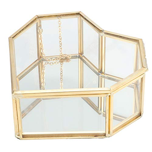 Alvinlite Maceta Contenedor de Vidrio Terrarios geométricos Caja de presentación de Bricolaje Helechos suculentos Contenedor de Amor de jardín en Miniatura