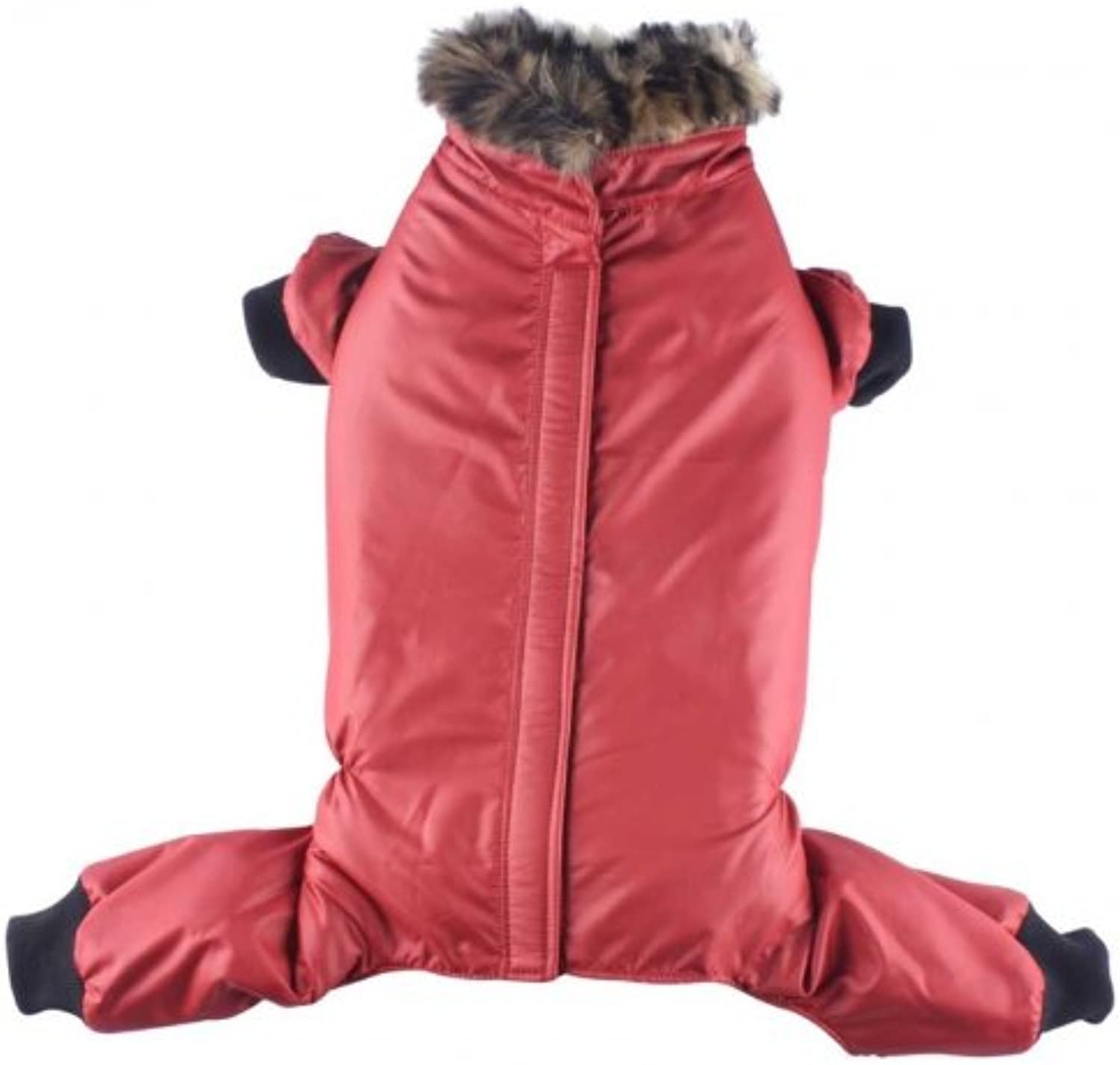 Doggydolly Red jacket 4 legs