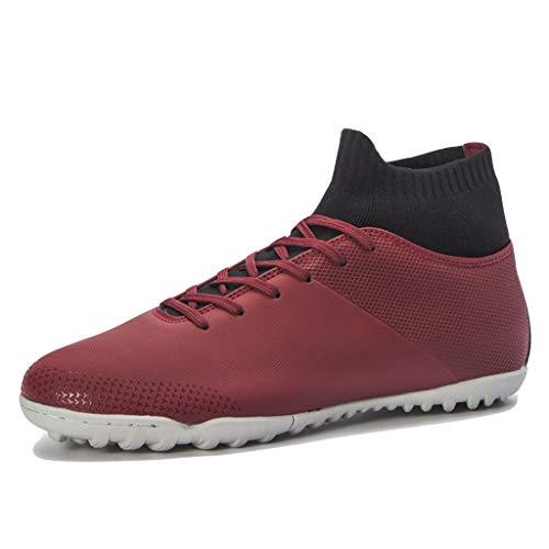 LIXIYU Unisex Hoge Top Voetbal Schoenen Voetbal Laarzen Gebroken Nagel Voetbal Schoenen voor heren Voetbal Schoenen Volwassen Sokken Trainingsschoenen