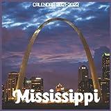 Mississippi Calendar 2021-2022: April 2021 Through December 2022 Square Photo Book Monthly Planner Mississippi small calendar