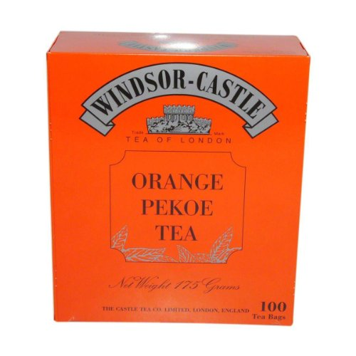 Windsor-Castle: Orange Pekoe Tea - 1 Packung à 100 Beutel
