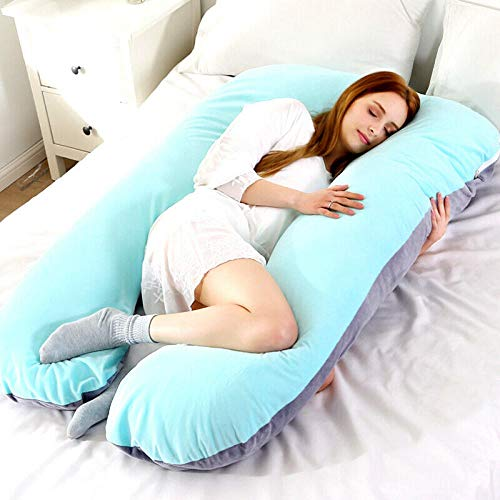 Liuyang V Pillow Cases Women Pregnant Pillow Large Size Comfort U Full Body Maternity Pregnancy Support Shape Cotton Bed-09