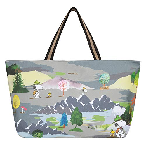 CODELLO Damen PEANUTS Weekender mit Snoopy & Co. aus Canvas