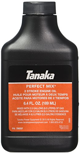 Hitachi 700207 6.4-Ounce Bottle Perfect Mix 2-Cycle Engine Oil Mix, 6-Pack