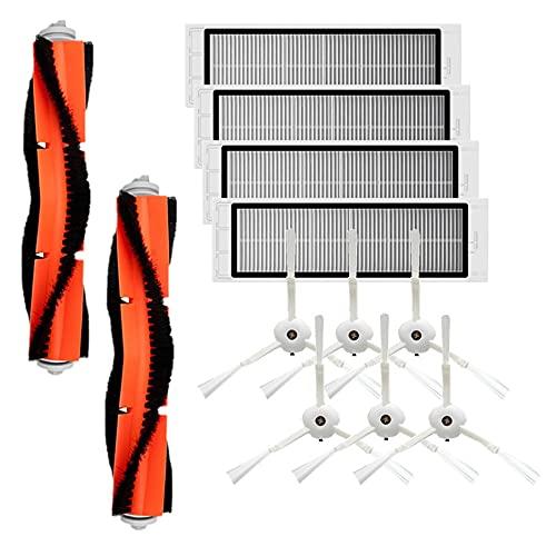 Lifeyz Cepillo de Rodillo Principal + Cepillo Lateral + Filtro Hepa para aspiradora x-iaomi 2 SDJQR01RR Kits de aspiradora robótica Piezas de Repuesto de barredora Exquisito