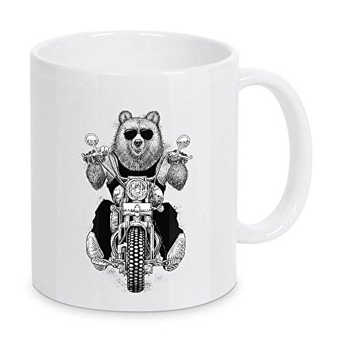 artboxONE - Taza de café con diseño de oso de Nikita Korenkov