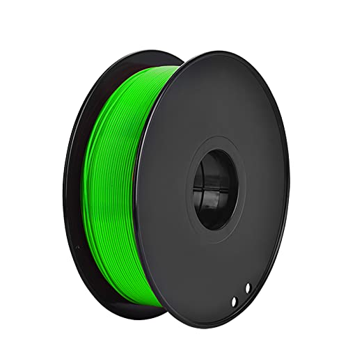 Night K 3D PLA Printer Filament, 3D Printing Filament PLA for 3D printer, 1kg 1 Spool,195-230℃, Accuracy +/- 0.02mm green