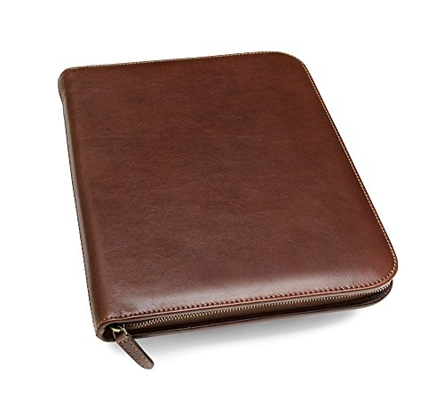 Maruse Leather Padfolio Executive Leather Writing Portfolio, Document...