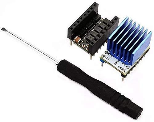 FORETTY DIANLU26 15 PCS Super Silent Stepper Motor Driver Module + 10pcs HeatSink + 5PCS Stepstick Kit Smoother per Stampante 3D Industriale .Prestazioni stabili