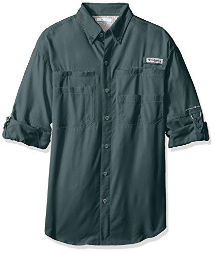 Columbia Sportswear Men's Tamiami II Long Sleeve Shirt, Pond, Large