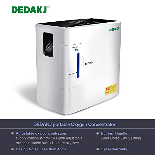 Great Deal! DEDAKJ DE-1S Machine 1-6L/min 30%-90% Continuous Device Humidifier, Night Light AC110V