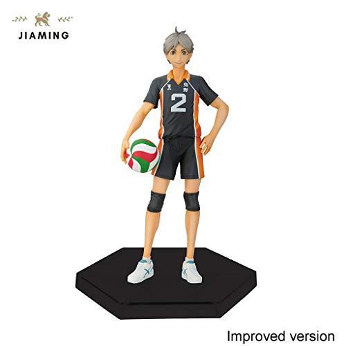 Jiaming Haikyuu 6,3 Pulgadas Koshi Sugawara Figura Modelo de Regalo - Altos 6,3 Pulgadas