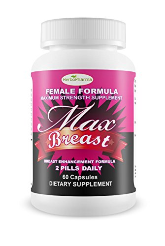 Max Breast - Best Natural Herbal Breast Enhancement Pills