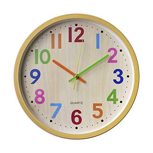 HOSTON Orologio da Parete Cucina 30cm Moderno Decorazioni casa Orologio Digitale Tranquillo Orologio da Parete utilizzato in...