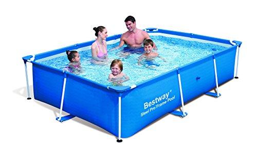 """Bestway 56042 Frame Pool Stahlrahmenbecken 259 x 170 x 61 cm \""""Splash Junior\"""""""