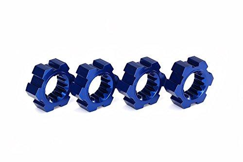 Traxxas 7756 X 7560 Aluminium moyeux de Roue (Lot de 4)