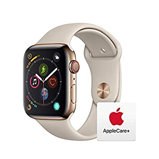 AppleWatch Series4 (GPS+Cellular, 44mm) - Gold Stainless Steel Case with Stone Sport Band with AppleCare+ Bundle (B07RL8DFY1) | Amazon price tracker / tracking, Amazon price history charts, Amazon price watches, Amazon price drop alerts