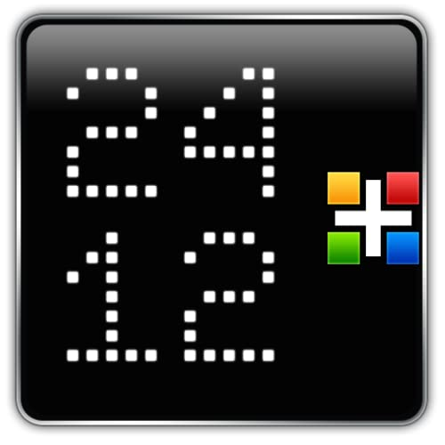 24/12 LED Clock for Gear Fit