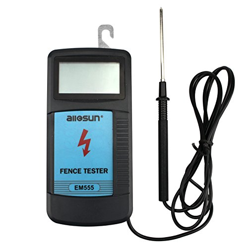 llOSUN Electric Fence Tester