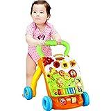 La Nueva Velocidad Regulable de Walker para niños de 1-3 años, niñas, Juguetes de Actividad, niños, centros de Actividad Walker Educational para niños de Primer Pasos Asistente TINGG