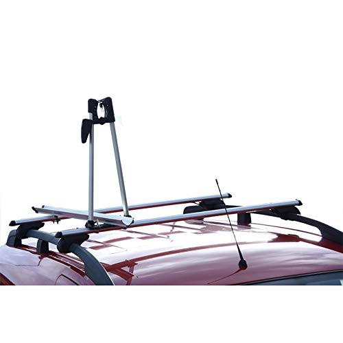 Twinny Load Portabicicletas de Techo de Aluminio para 1 Bici