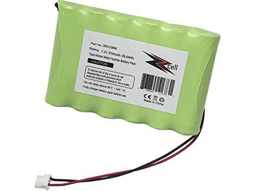 ZZcell High Capacity Battery for 300-03866 Honeywell Alarm Lynx 5100, 5200, 5210, Lynx Touch 7000, Lyric Controller, Lyric Keypad LCP500-L, LYNXRCHKIT-SHA, OSA214, LCP500-4B, 7.2V, 3700mAh
