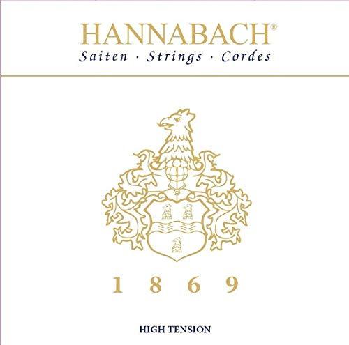 Hannabach 1869HT - Jubiläums-Saite - Carbon/Gold