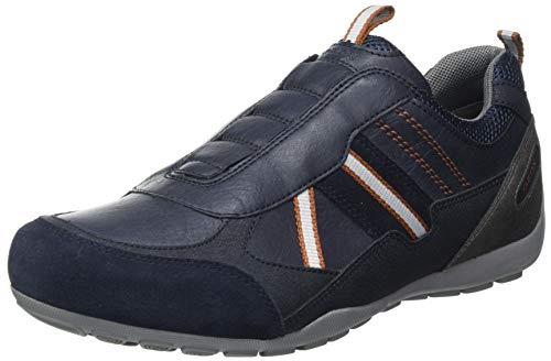 Geox Mens U RAVEX B Sneaker, Navy,42 EU