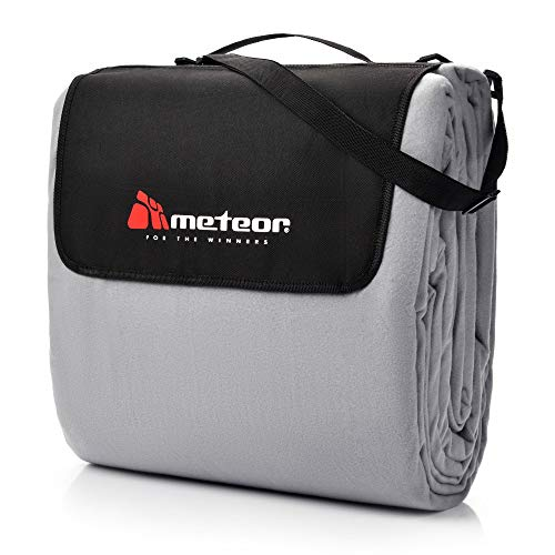 meteor Manta de pícnic o playa, impermeable, a prueba de arena, ideal para picnic, para exteriores, camping, playa, aislante térmico, para el aire libre