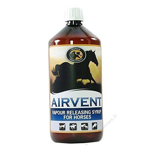 AirVent - Sirop pour chevaux adoucissant et rafraîchissant 1L