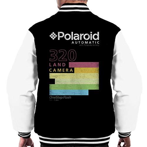 Polaroid Automatic 320 Colourful Stripes Men's Varsity Jacket