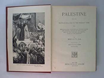 Hardcover Nations of the World Kitto's Palestine Book