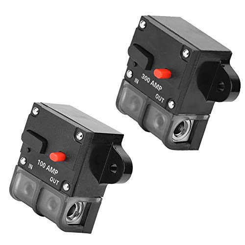 Interruptor automático automotriz de Suuonee, 12-42 Vdc 100a / 300a Servicio pesado Auto reinicio automático Interruptor de circuito en línea Recuperación automática de fusibles