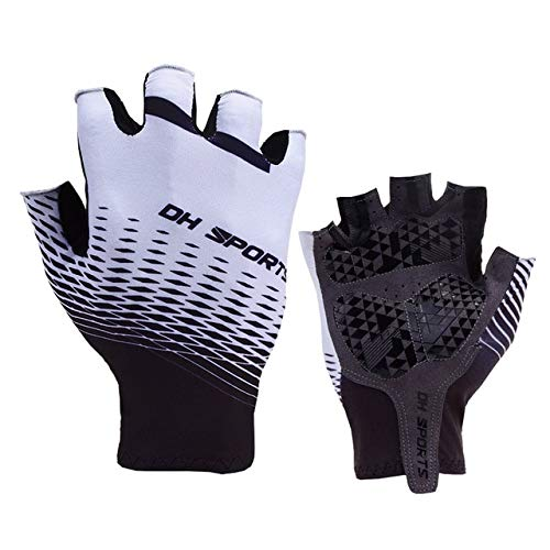 New Cycling Gloves Half Finger Gel Sports Racing Bicycle Mittens Women Men Summer Road Bike Anti slip Outdoor Gloves-a18-XL