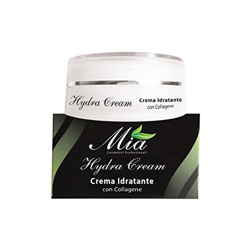 Crème Visage Hydratante au Collagène, prévient la formation des rides, indiquée pour les peaux sèches et déshydratées - 50 ml