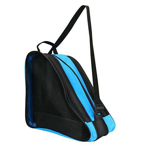 LINGSFIRE Roller Skate Bag, Breathable Ice-Skating Bag Shoulder and Top Handle Oxford Cloth Skating Bag for Women Men and Adults Roller Skate Accessories