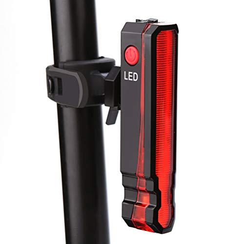 Sapphero Safety Fahrradleuchte vorne hinten Sicherheitswarnung Fahrradleuchte USB wiederaufladbare Fahrradrückleuchte hinten