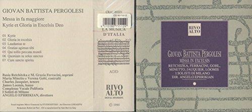 Messa in fa maggiore - Kyrie et Gloria in Excelsis Deo