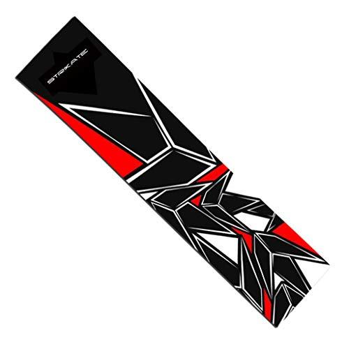Toygogo DIY Skateboard Schleifpapier Aufkleber Griptape, Longboard Zubehör, Viele Farbe Auswahl - Roter Diamant