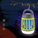 Lámpara LED para asesino de insectos de energía solar, asesino de mosquitos, insecto para jardín, patio, césped/verde