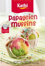 Kathi Backmischung Papagei Muffins 460g