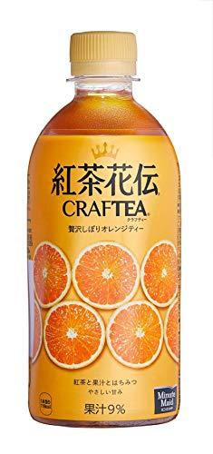 コカコーラ 紅茶花伝 CRAFTEA(クラフティー) 贅沢しぼりオレンジティー 440mlペットボトル×24本入×(2ケース)