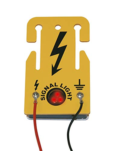 AKO Signal Licht für Weidezaun, Optische Zaunkontrolle & Abschreckung Wild - Keine Batterie erforderlich - Abschreckende Wirkung auf Wildtiere