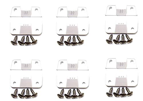JSP Manufacturing New AFTERMARKET Coleman Replacement Cooler Hinges + Stainless Screws (6)