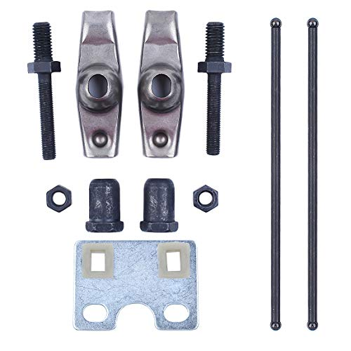 Válvula de Empuje Varilla de guía Placa guía Brazo del balancín Kit Fit Honda GX340 GX390 Chino 188F 11 / 13HP Motor de Gasolina Generador de Bomba de Agua