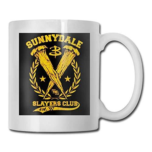 haoqianyanbaihuodian Buffy The Vampire - Taza de café de cerámica para hombres y mujeres, 15 onzas