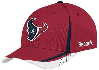 NFL Houston Texans Sideline Flex-Fit Draft Hat, Red